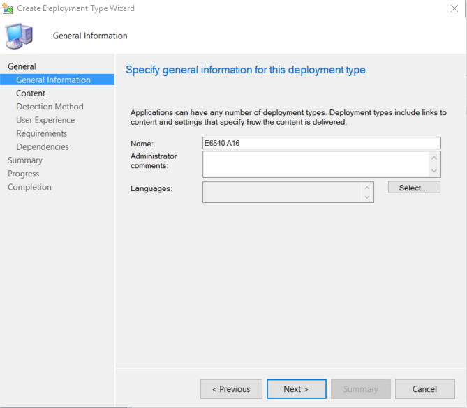 Updating Dell Bios with ConfigMgr–Post 3–The Application
