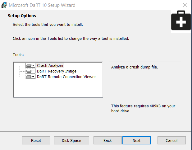 Integrate DaRT 10 Tools into your Recovery Partition during