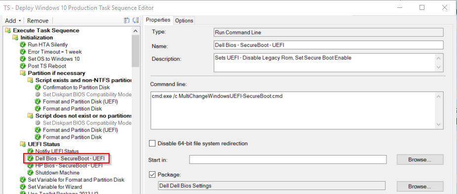Enforce UEFI during OSD or Nicely Fail with remediation  – GARYTOWN