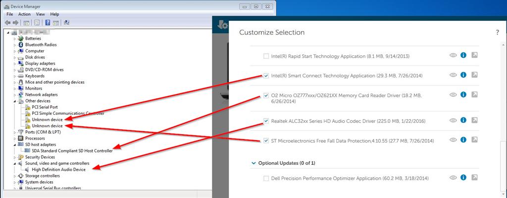 intel display audio driver windows 10 dell