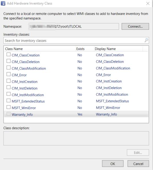 Dell Warranty Reporting via ConfigMgr – Dell Warranty API