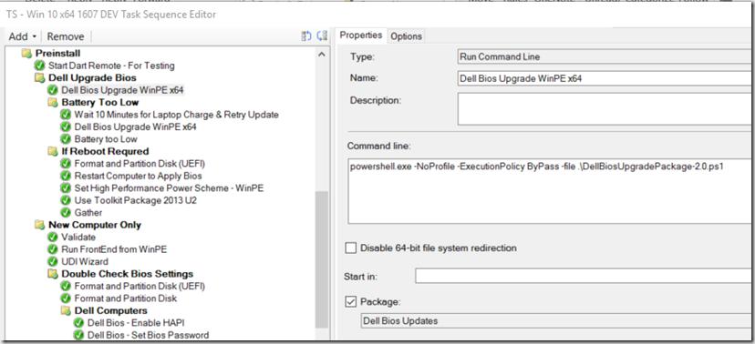 Dell Bios Upgrade in OSD WinPE x64 – GARYTOWN ConfigMgr Blog