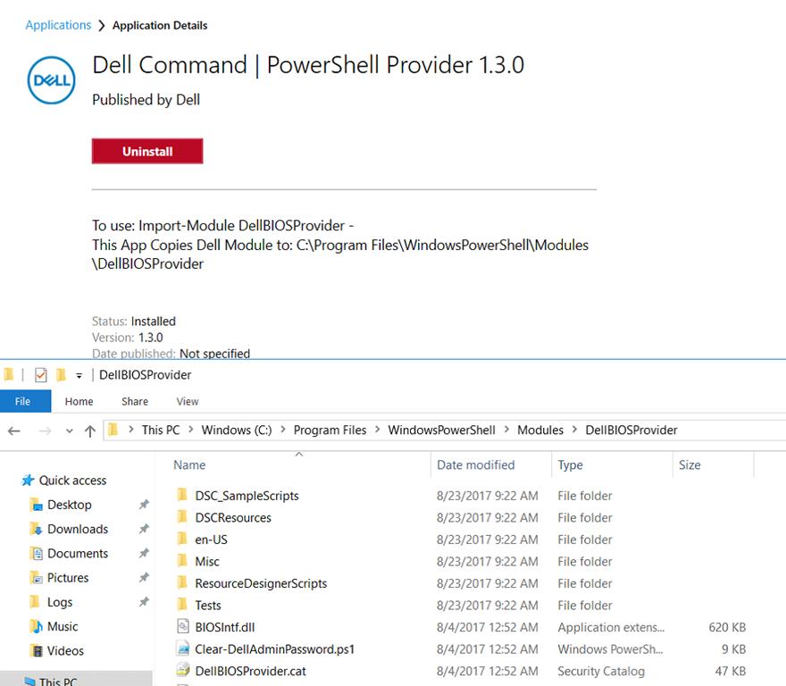 Dell PowerShell Provider Install w/ ConfigMgr – GARYTOWN ConfigMgr Blog