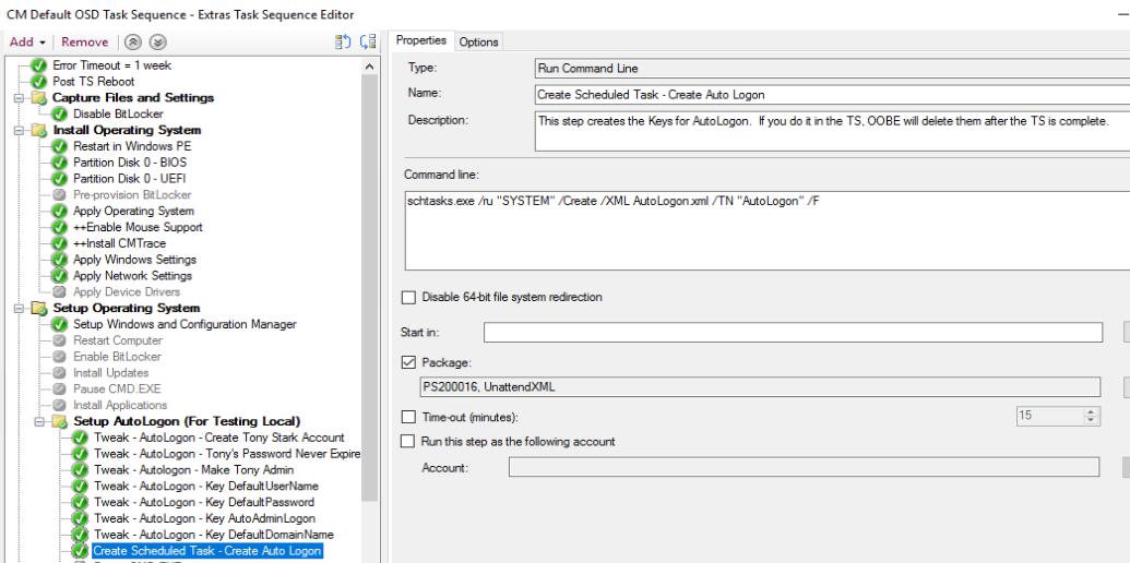ConfigMgr OSD Lab–Add AutoLogon Account – GARYTOWN ConfigMgr Blog