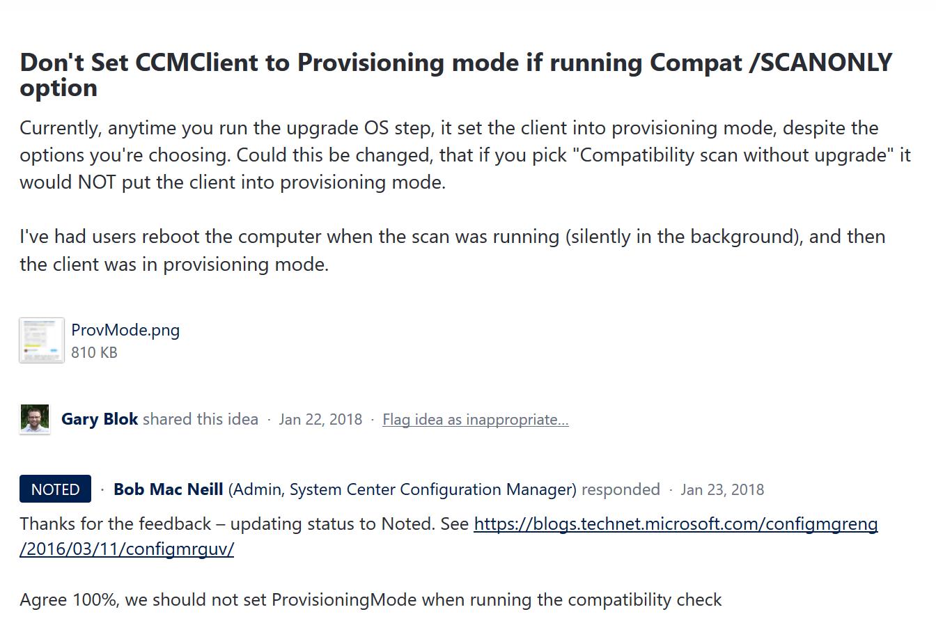 ConfigMgr Client Provisioning Mode – GARYTOWN ConfigMgr Blog
