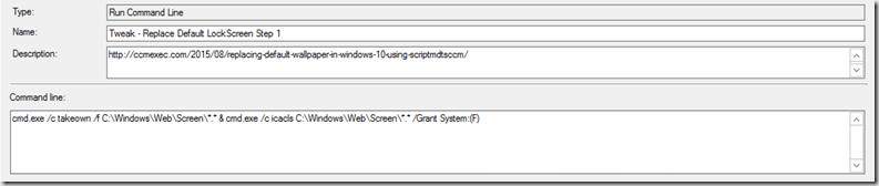 Windows 10 Lock Screen – GARYTOWN ConfigMgr Blog