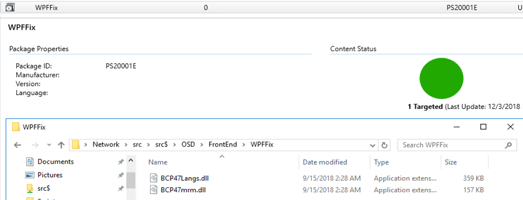 Fix Windows ADK version 1809 issue with crashing WPF applications