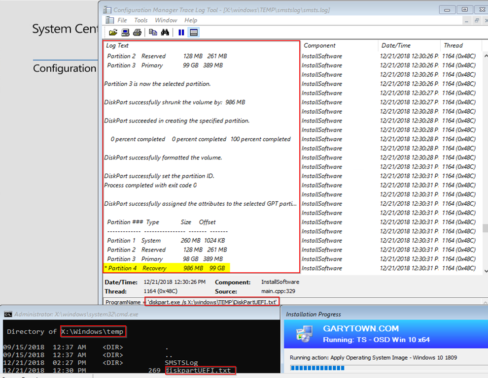 OSD Partition Setup, Mike Terrill Edition (The Optimized Way