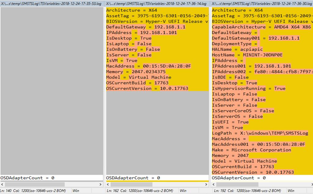 Task Sequence Variables – GARYTOWN ConfigMgr Blog