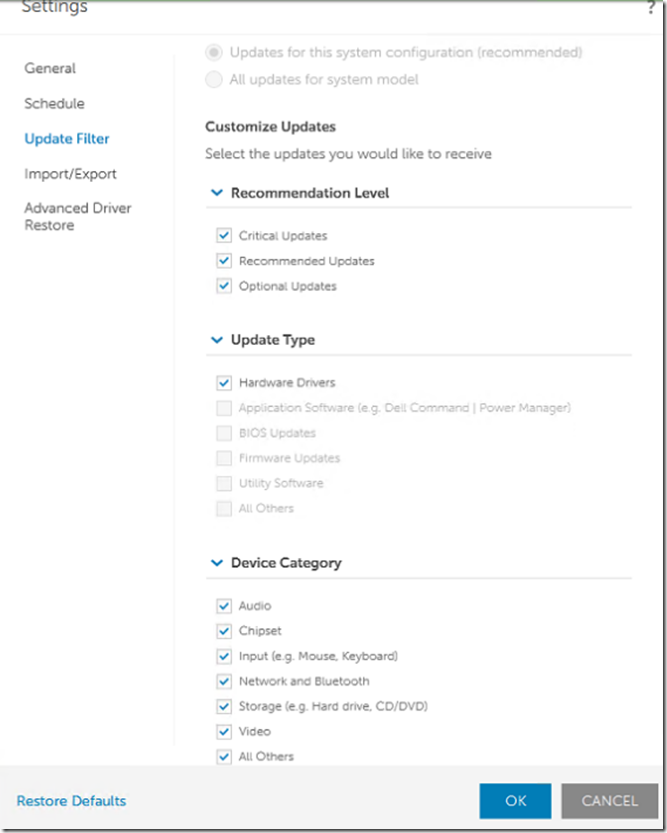 Dell Command Update Tips for Enterprise Automation – GARYTOWN