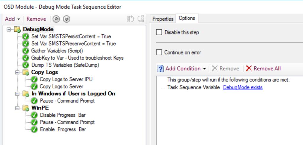 Building a Better Debug Task Sequence – GARYTOWN ConfigMgr Blog
